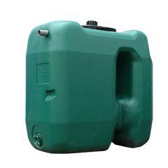 Cuve a eau de pluie rectangulaire aérienne - jumelable - 1000 litres