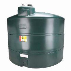 Cuve à fioul de 3500 litres en PE-HD - simple paroi