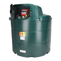 Cuve fioul en PE de 2350 litres avec pompe pour gasoil / GNR (220V)