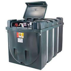 Cuve fioul en PE de 2500 litres avec pompe pour gasoil / GNR (220V)