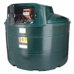 Cuve fioul en PE de 3500 litres avec pompe pour gasoil / GNR (220V)