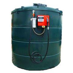 Cuve GNR en PE de 9400 litres avec pompe (220V)