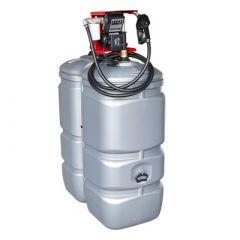 cuve à gasoil avec pompe 750L