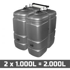 Cuve fuel 2000 litres