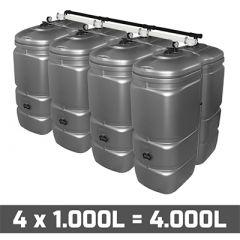 Cuve fuel 4000 litres