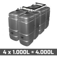 Cuve fuel 4000L