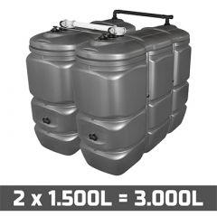 Cuve fuel 3000L