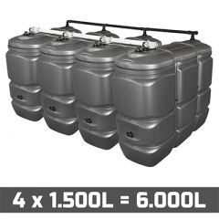 Cuve fuel 6000L