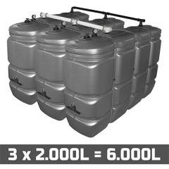 Cuve fuel 6000 litres