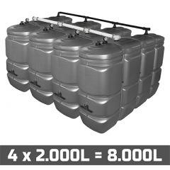 Cuve fuel 8000L