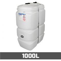 Cuve fioul PE: 1000 litres standard - aérienne double paroi