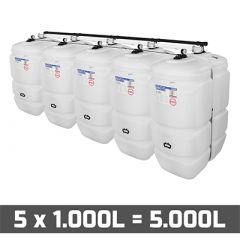 Cuve fioul 5000 litres