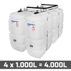 Cuve fioul 4000 litres
