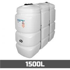 Cuve fioul PE: 1500 litres standard - aérienne double paroi