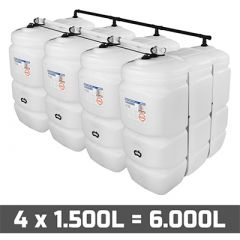 Cuve fioul 6000 litres