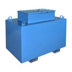 Cuve transport en acier - 1500 litres - avec ou sans pompe