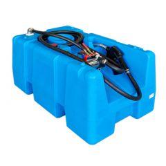 Cuve de ravitaillement en PE-HD - 200 litres - modèle ouvert - avec ou sans pompe