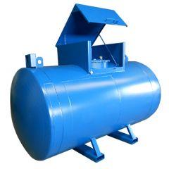 Cuve de ravitaillement en acier - 3000 litres - avec ou sans pompe