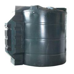 Cuve fioul en PE de 9400 litres avec pompe pour gasoil / GNR (220V) - montée dans l'armoire