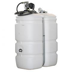 Cuve fioul polyéthylène de 750 litres avec pompe gazole (220V) - largeur de 66 cm