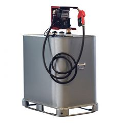 Cuve à gasoil 700 litres avec pompe - GALVA