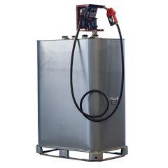 Cuve à gasoil 1000 litres avec pompe - GALVA