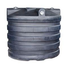 Fosse septique ronde en plastique (PE) à enterrer de 6000 litres