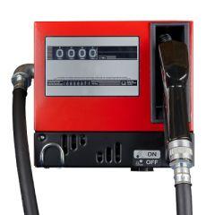 Pompe gasoil 220V (40-60 L/M) avec compteur - Fermée