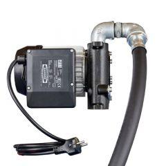 Pompe gasoil 220V (40-60 L/M) sans compteur - Autonome