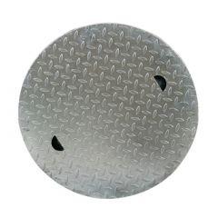 Couvercle en acier 600 mm | pour cuve d'eau à enterrer NORDIC, NAUTILUS & BELUGA