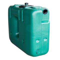 Cuve a eau de pluie rectangulaire aérienne - jumelable - 1500 litres