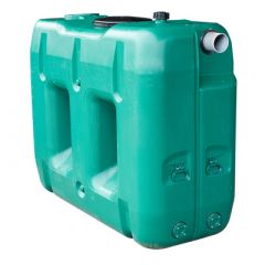 Cuve a eau de pluie rectangulaire aérienne - jumelable - 2000 litres