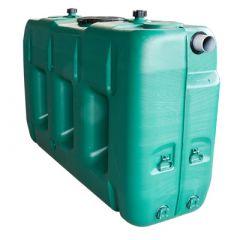 Cuve a eau de pluie rectangulaire aérienne - jumelable - 3000 litres