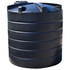 Cuve à eau de pluie aérienne ronde - 10000 litres (Ø 2,40 m)