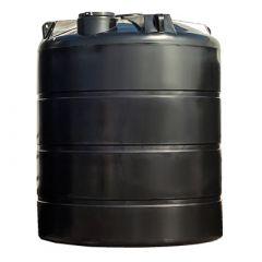 Cuve à eau de pluie aérienne ronde - 12000 litres (Ø 2,45 m)