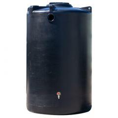 Cuve à eau de pluie aérienne ronde - 2000 litres (Ø 1,20 m)