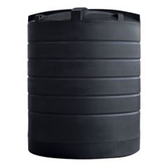 Cuve à eau de pluie aérienne ronde - 12000 litres (Ø 2,40 m)