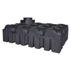 Cuve à eau aérienne ultraplate en plastique - 5000 litres