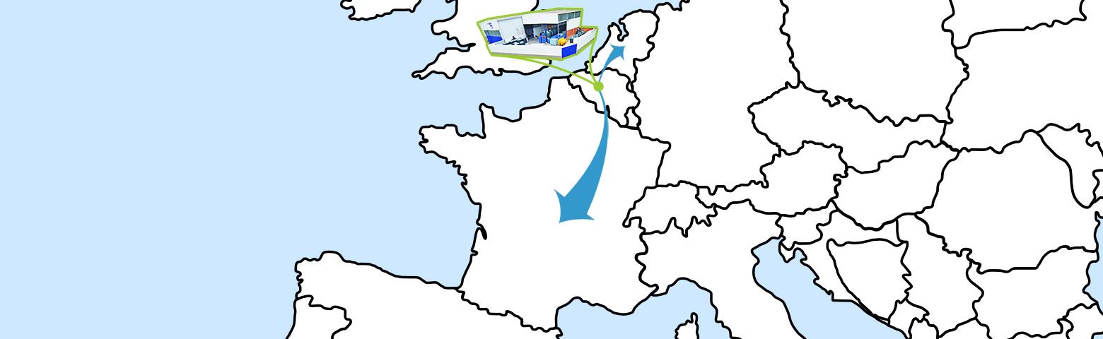 Bollaert effectue des livraisons en Belgique, aux Pays-Bas et en France