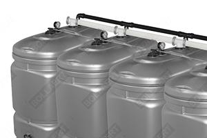 cuve fuel montage batterie